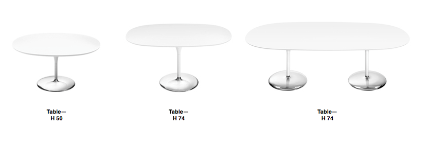 Arper Duna Table - Overview