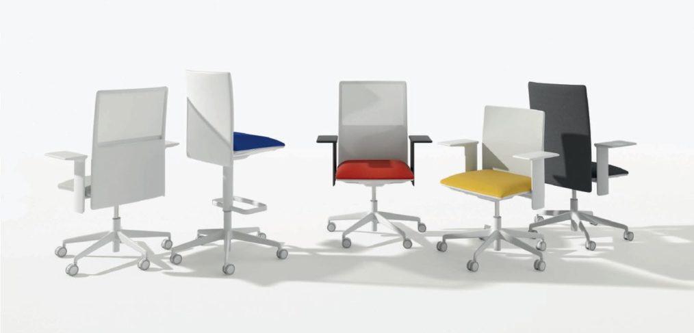 Extra Brede Bureaustoel.Nieuwe Bureaustoel Van Arper De Planesit Beltane