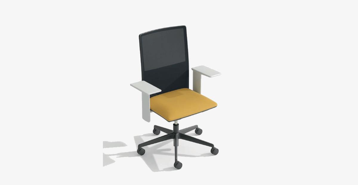 Nieuwe Bureau Stoel.Nieuwe Bureaustoel Van Arper De Planesit Beltane